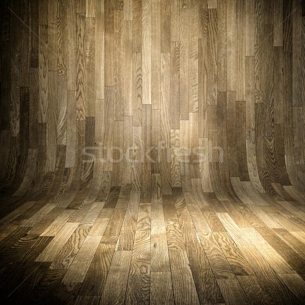 wood parquet background Stock photo © tiero