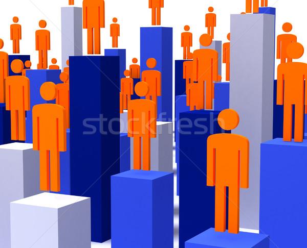 people business background Stock photo © tiero