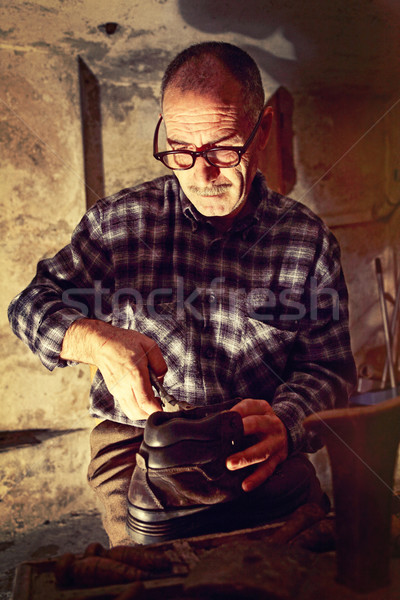 作業 古い ツール 手 男 ワーカー ストックフォト © tiero