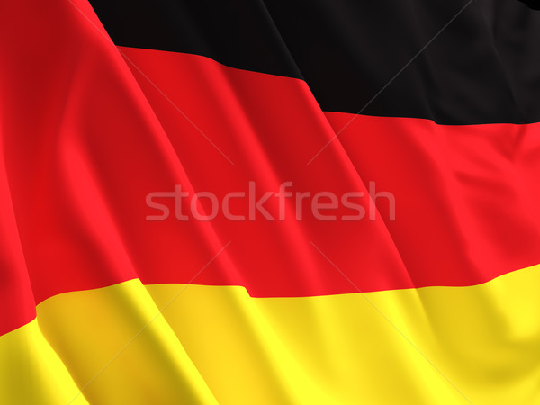 german flag Stock photo © tiero