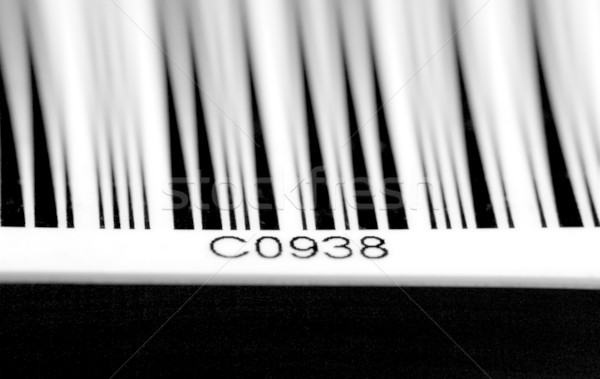 bar code detail Stock photo © tiero