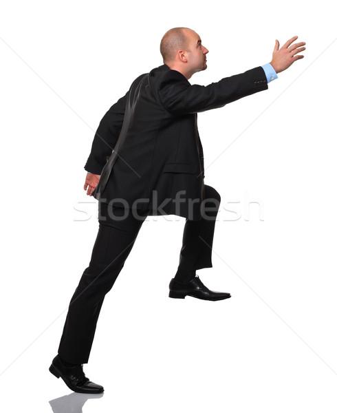 businessman in action Stock photo © tiero