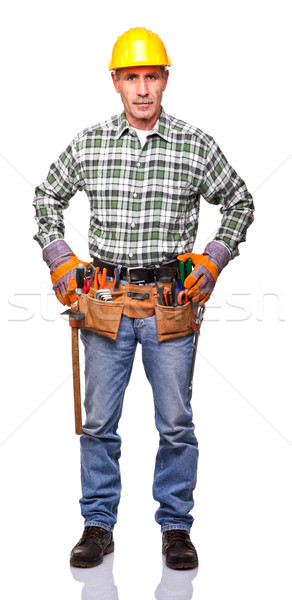 manual worker portrait Stock photo © tiero