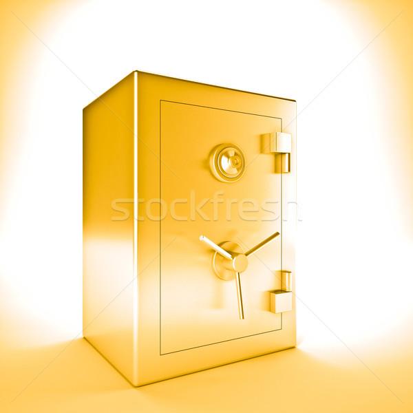 golden safe Stock photo © tiero