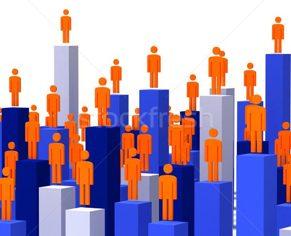 3d business people Stock photo © tiero