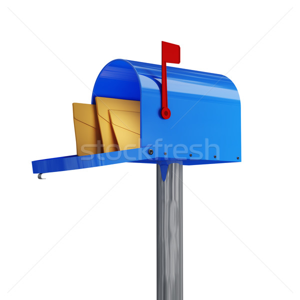 classic mailbox Stock photo © tiero