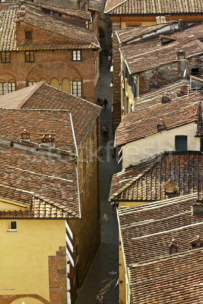 Lucca aerial view Stock photo © tiero