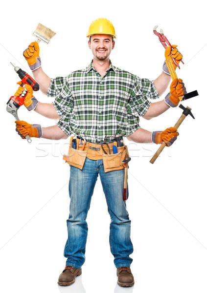 multi handyman Stock photo © tiero