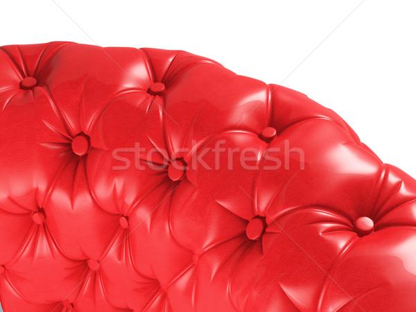 red sofa Stock photo © tiero