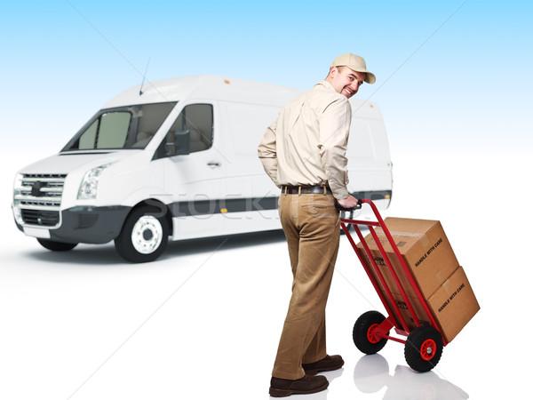 delivery service Stock photo © tiero