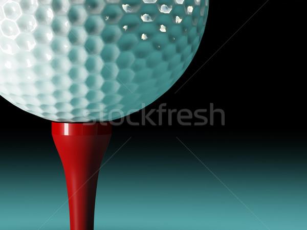 golf ball background Stock photo © tiero