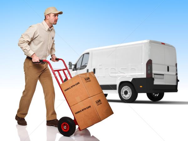 fast delivery Stock photo © tiero