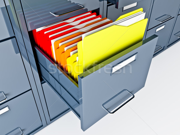 file cabinet Stock photo © tiero