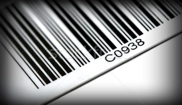 Streepjescode detail klassiek technologie teken industriële Stockfoto © tiero