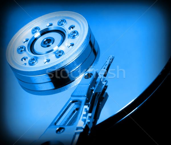 Harde schijf afbeelding business computer Stockfoto © tiero