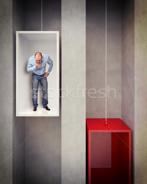 go down Stock photo © tiero