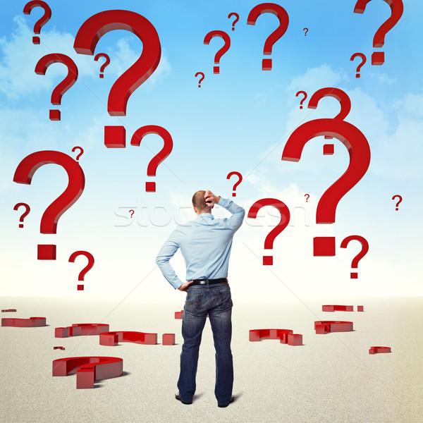need help and solution Stock photo © tiero