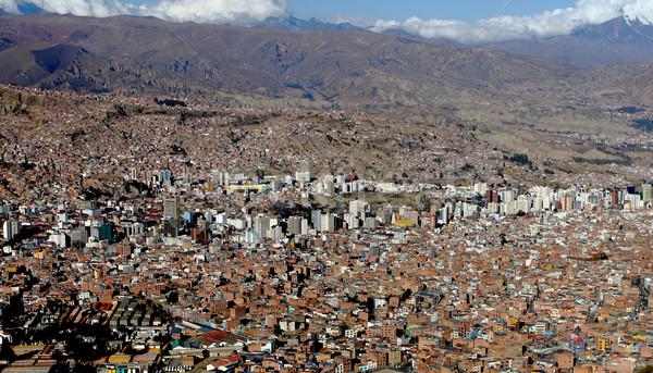 La Bolivie image ville paysage Photo stock © tiero