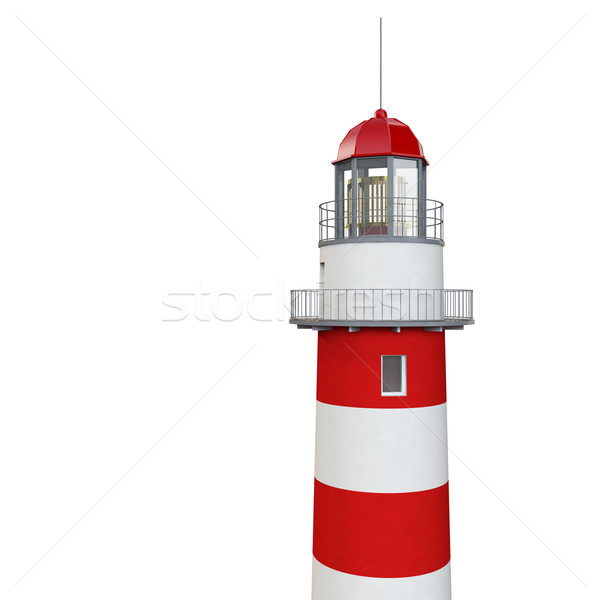 isolated lighthouse Stock photo © tiero