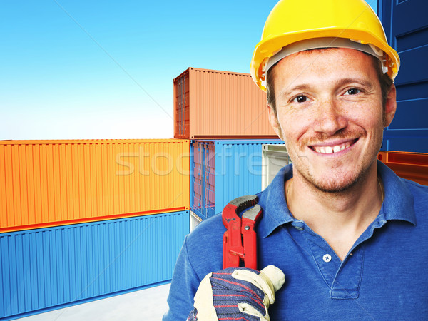 handyman at work Stock photo © tiero