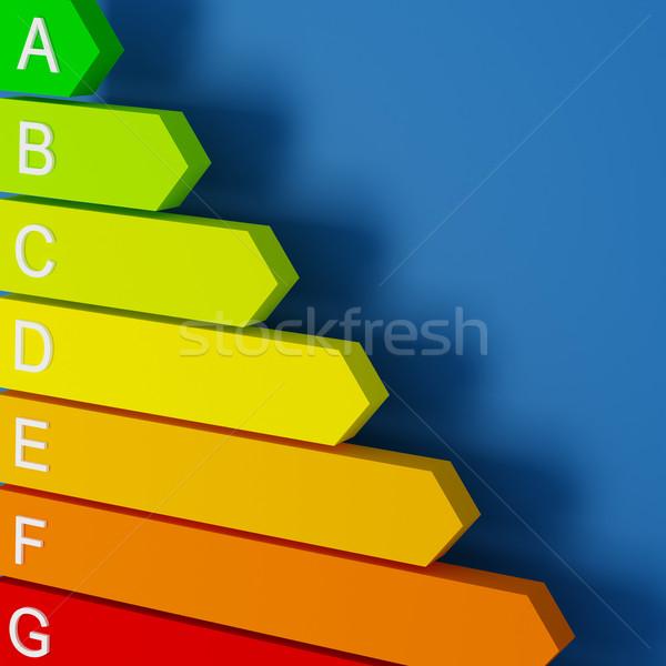 energy label background Stock photo © tiero
