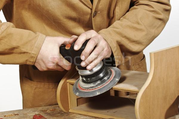 detail of manual work Stock photo © tiero