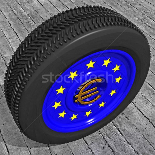 european car Stock photo © tiero