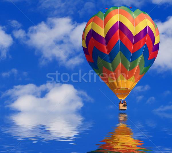 air balloon Stock photo © tiero