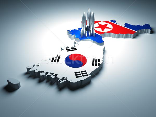 war in korea Stock photo © tiero