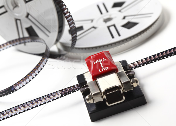 Film görüntü klasik 8mm film Stok fotoğraf © tiero