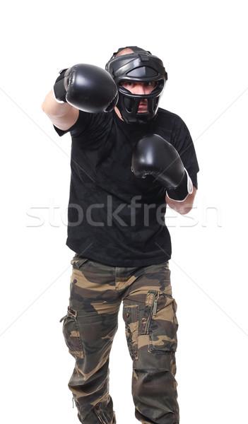 krav maga fighter Stock photo © tiero