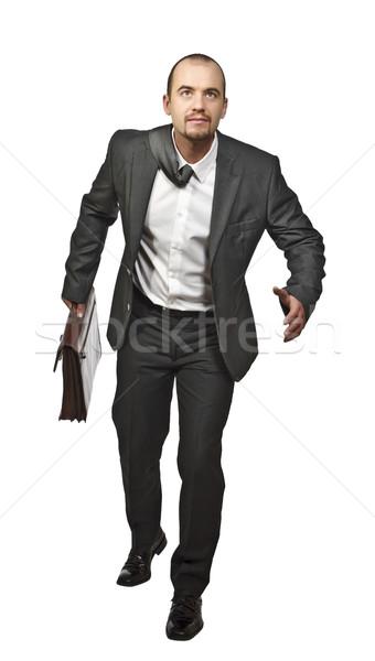 businessman running Stock photo © tiero