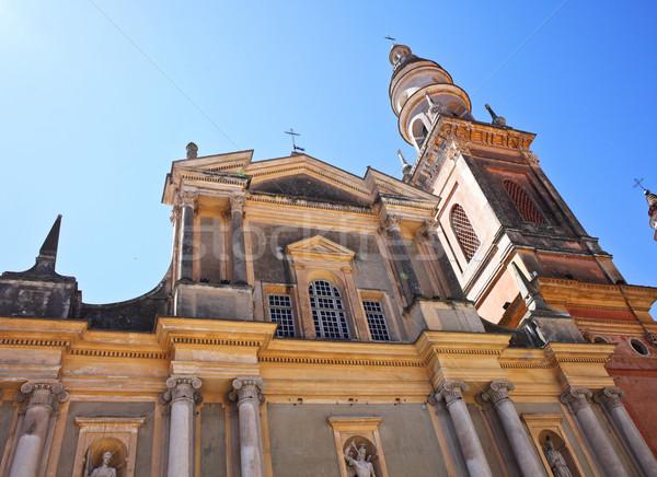 st michel church in menton Stock photo © tiero