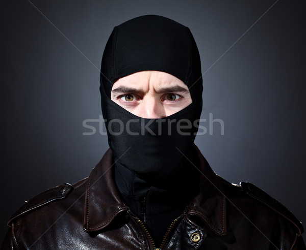 thief portrait Stock photo © tiero