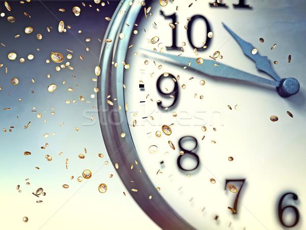 time and money Stock photo © tiero