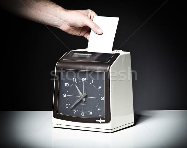 check clock Stock photo © tiero
