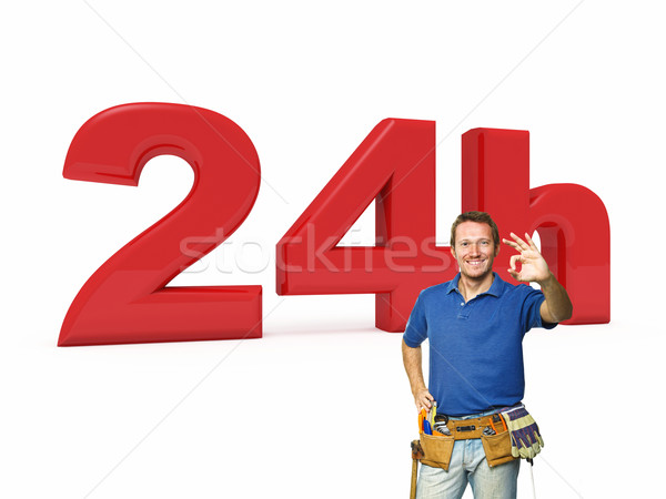24 hours handyman service Stock photo © tiero