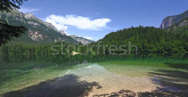tovel lake on alps Stock photo © tiero