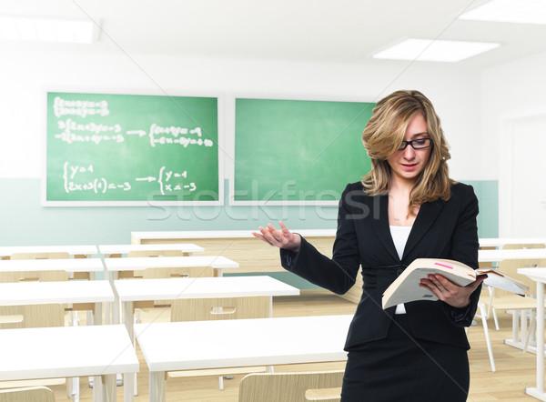 teacher in action Stock photo © tiero