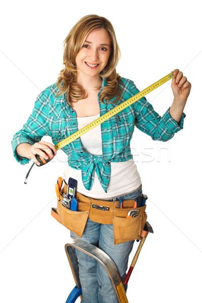 woman at work Stock photo © tiero