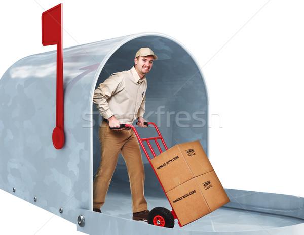 home delivery Stock photo © tiero