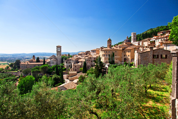 Stock photo: assisi view