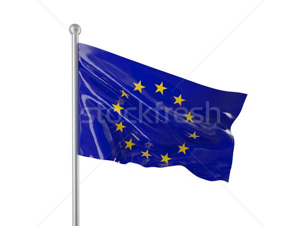 europe flag Stock photo © tiero