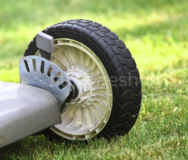 Lawn Mower detail Stock photo © tiero