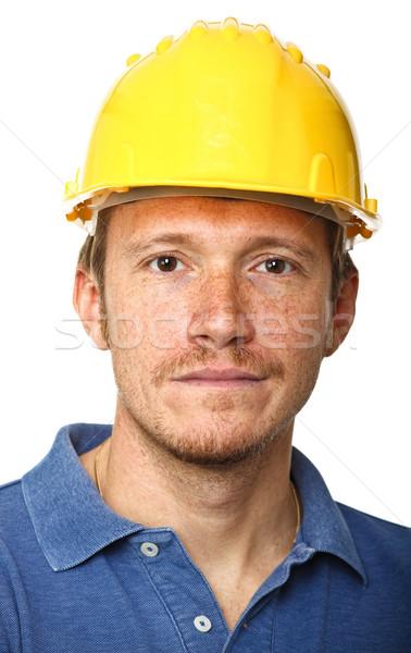 portrait of manual worker Stock photo © tiero