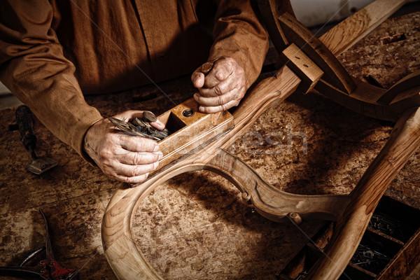 craftman at work Stock photo © tiero