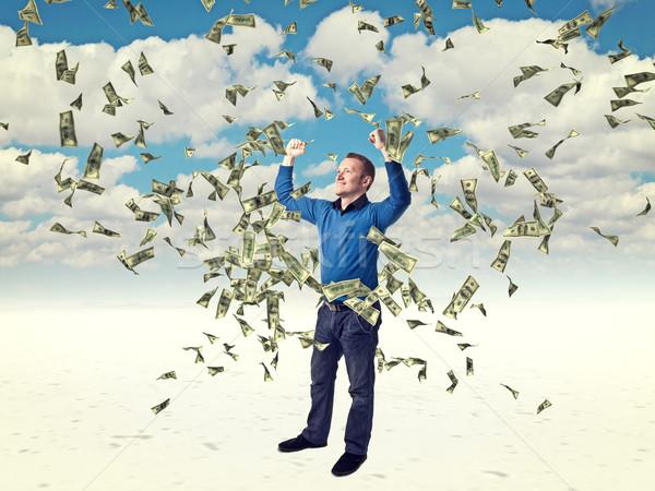 money rain Stock photo © tiero