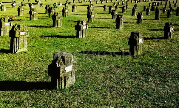 cimitery in crespi d'adda Stock photo © tiero
