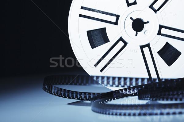 8mm film bağbozumu eski film ışık Stok fotoğraf © tiero
