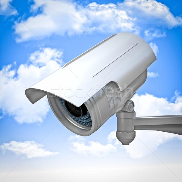 surveillance camera Stock photo © tiero